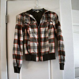 Rubbish Plaid Jacket